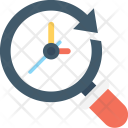 Deadline Search Magnifier Icon
