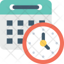 Deadline Timer Date Icon