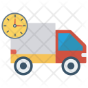 Deadline Delivery Truck Icon