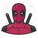 Deadpool Superhero Comics Icon