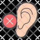 Deaf Ear Disability Icon