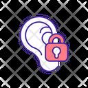 Deaf Impairment Deafness Icon
