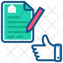 Deal Agreement Legal Document Icon