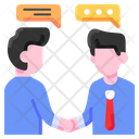 Deal Agreement Financial Icon