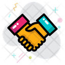 Deal Cooperation Shake Hand Icon