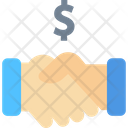 Partnership Deal Aggrement Icon
