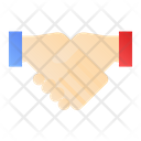 Deal Handshake Agreement Icon