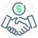 Deal Business Money Icon