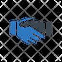Deal Partnership Handshake Icon