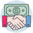 Business Money Agreement Icon