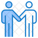 Business Deal Handshake Deal Icon