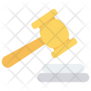 Justice Law Hammer Icon