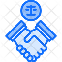 Deal In Court Icon