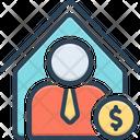 Dealer Trader Merchant Business Man Vendor Wholesaler Marketer Home Dealer Agent Icon