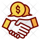 Deals Dealing Business Icon
