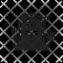 Covid Death Virus Icon