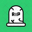 Death Funeral Grave Icon