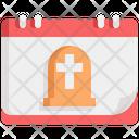 Death Grave Funeral Icon