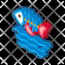 Death Fish Water Icon