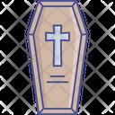Death Funeral Dead Body Box Casket Icon