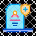 Death Insurance Care Icon