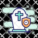 Funeral Insurance Catholic Icon