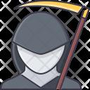 Death Mantle Scythe Icon