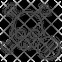 Coronavirus Outbreak Daeth Icon