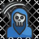 Death Scythe Reaper Spooky Icon