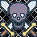 Death Skull Kills Bone Icon
