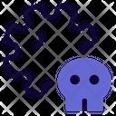 Death Virus Corona Death Death Icon