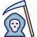 Death With Scythe Icon