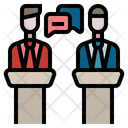 Debate Election Argument Icon