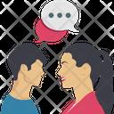 Debate Loving Chat Icon