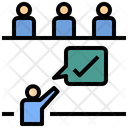 Opinion Voter Agreement Icon