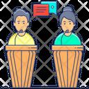 Debate Discussion Argument Icon