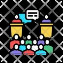 Debate Discuss Discussion Icon