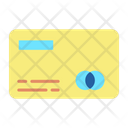 Debit Card Card Front Side Card Number Icon
