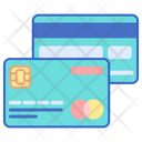 Debit Card Credit Card Shopping Card Icon