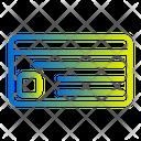 Debit Card Credit Card Atm Card Icon
