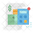 Debt Bank Money Icon