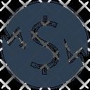 Loan Crisis Debt Icon