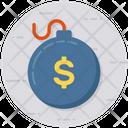 Debt Economy Finance Icon