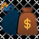 Debt Money Bag Loan Icon