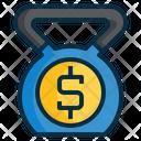 Debt Weight Kettle Icon
