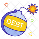 Debt Bomb Logic Bomb Malware Icon