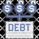 Debt Consolidation Icon