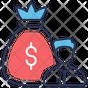 Bankrupt Debt Loan Icon