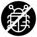 Debug Virus Bug Prohibition Virus Control Icon