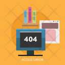 Access Error Website Icon